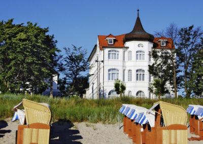 Strandhotel Lissek Binz, Rügen, Ostsee MV