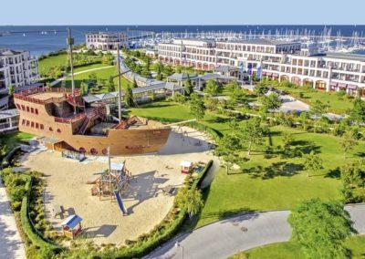 Yachthafenresidenz Hohe Düne, Ostsee MV