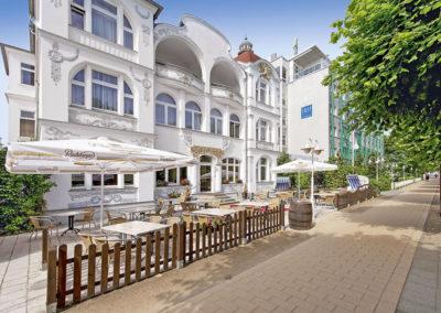 Strandhotel Ahlbeck, Usedom, Ostsee MV