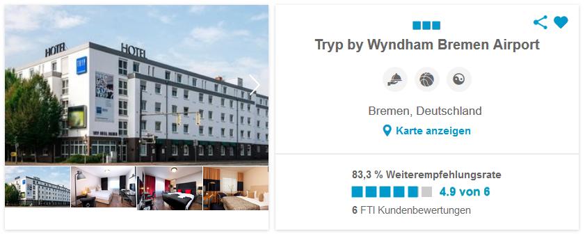 Tryp by Wyndham Bremen Airport, Bremen Deutschland