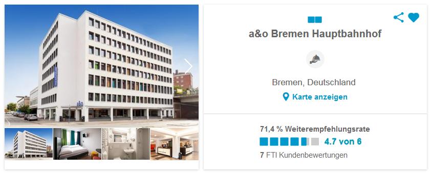 a&o Bremen Hauptbahnhof Bremen, Deutschland