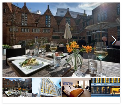 Atlantic Grand Hotel Bremen, Deutschland 1