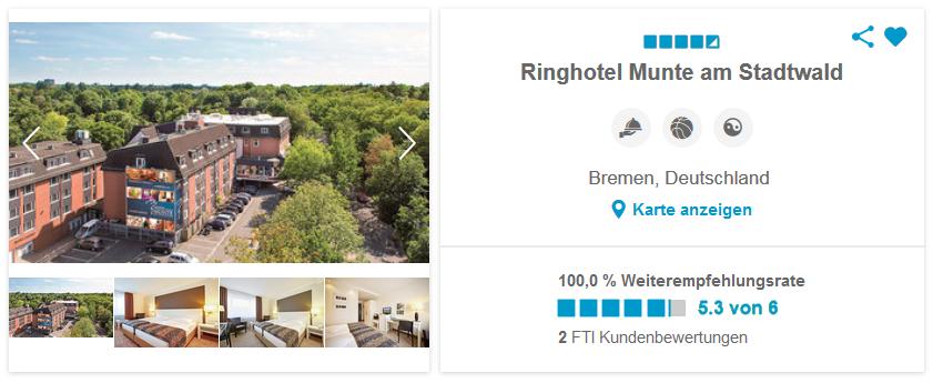 Ringhotel Munte am Stadtwald, Bremen, Deutschland
