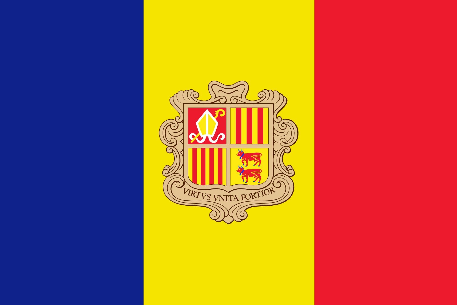 andorra la villa flagge
