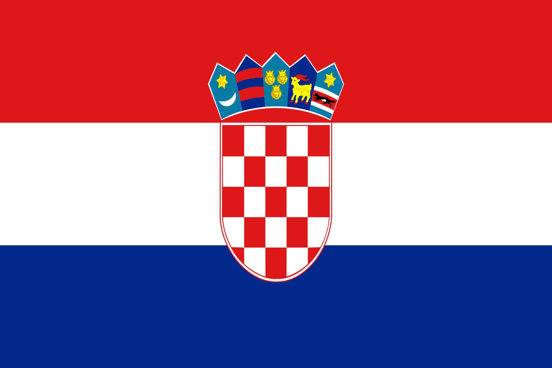 croatia kroatien flagge