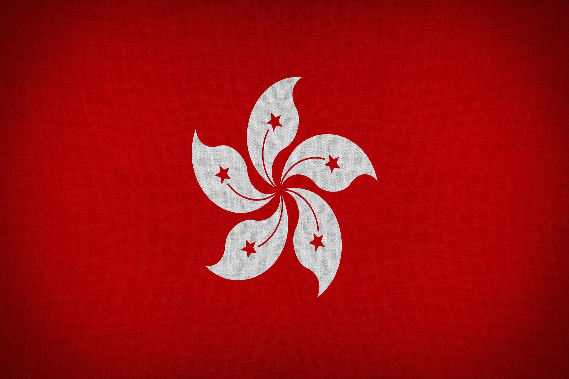 hongkong flagge