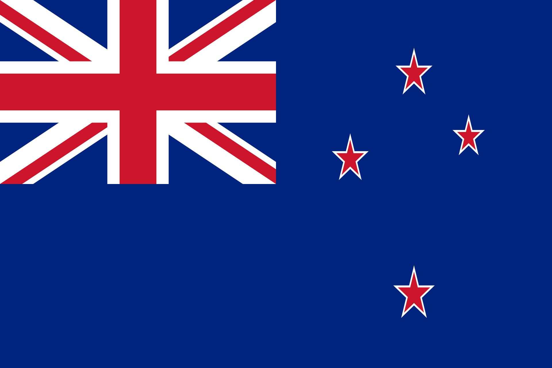 new-zealand neuseeland flagge