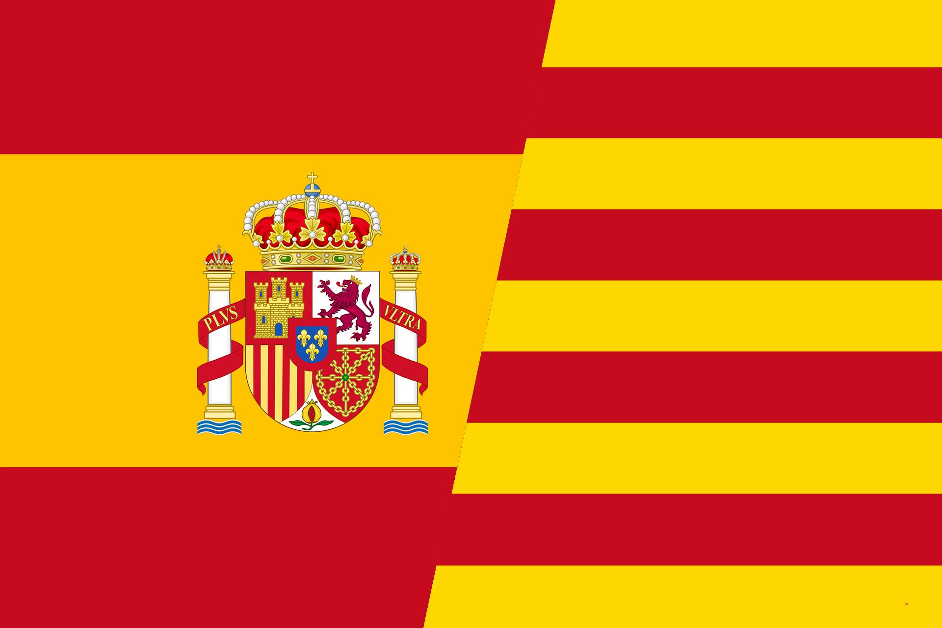 span - cata flagge
