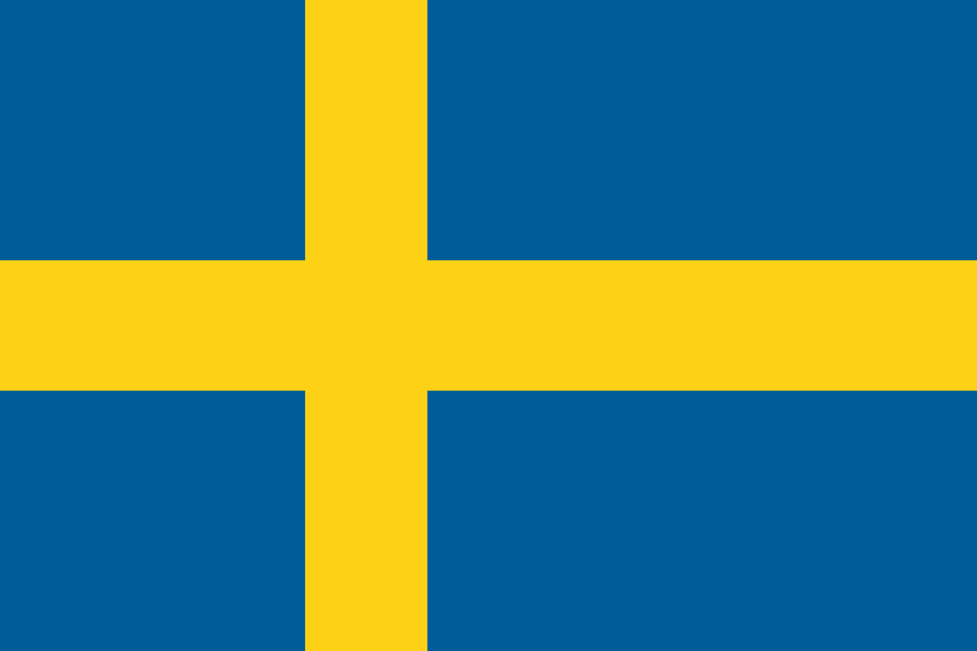 sweden flagge