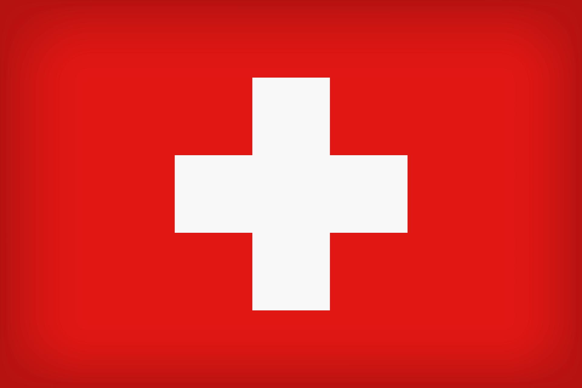 swiss schweiz flagge